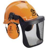Lesnická ochranná helma 3M G22D, XA007707335, oranžová