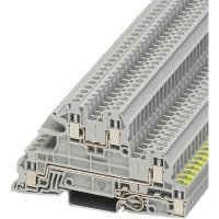 Vícenás. instalační svorka Phoenix Contact UTI 2,5-PE/L/L (3076029), šroubovací, šedá