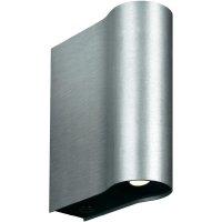 Nástěnné LED svítidlo Philips Ledino, 33259/48/16, 2x 2,5 W, stříbrná