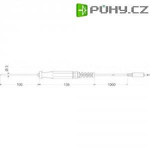 Zapichovací snímač pro měkká plastická media, Greisinger GES 175, 100740