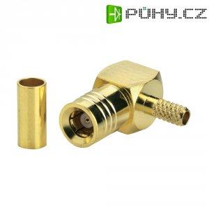 SMB konektor BKL Electronic 411012, 50 Ω, 500 MΩ, zástrčka úhlová, 2.6 mm