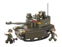 Stavebnice SLUBAN ARMY TANK LEOPARD 2A6M M38-B0285