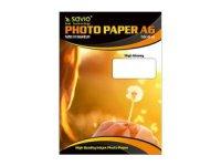 Fotopapír SAVIO A6 150g/m2 - lesklý, 50 listů