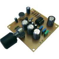 Vysoce citlivý mikrofon do zvukových parabol Kemo B085, 56 x 56 mm, 9 V/DC (stavebnice)