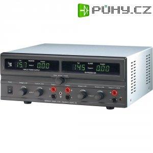 Dvojitý laboratorní síťový zdroj EA-PS 2316-050, 0 - 16 VDC, 0 - 5 A