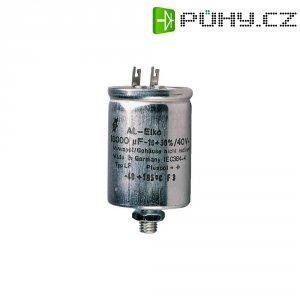Snap In kondenzátor elektrolytický F & T LFB 508 35X70, 10000 µF, 63 V, 20 %, 66 x 35 mm