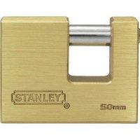 Visací zámek Stanley Solid Brass Bayonette 40 mm (81090371401)
