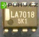 LA7018 - elektronický spínač pro VTR, DIL8