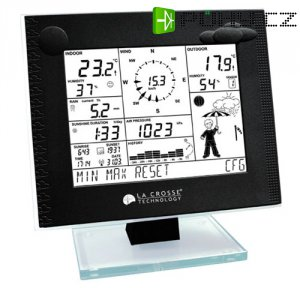 Meteostanice WS2-550 (PC/USB) black