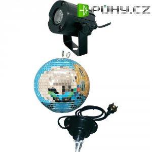 LED zrcadlová koule s motorem Eurolite, 50101861, 30 cm