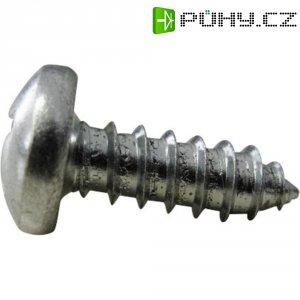 Šrouby do plechu s čočkovou hlavou TOOLCRAFT, DIN 7981, 3,9 x 16 mm, 100 ks