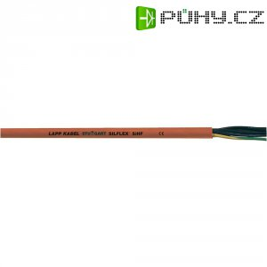 Silikonový kabel LappKabel Ölflex® HEAT 180 SIHF 2x1,0 (0046007), červenohnědá, 1 m