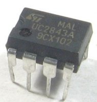 UC2843A - PWM controller, DIL8