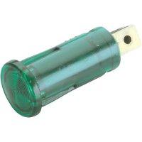 Kontrolka, zelená, 12 V, 0,7 W