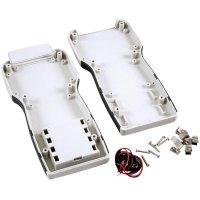 Univerzální pouzdro ABS Hammond Electronics 1553TGYBAT, 210 x 100 x 32 mm, šedá