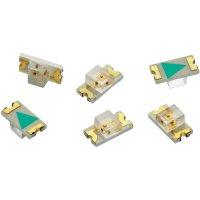 SMD LED Würth Elektronik, 156120RS75300, 25 mA, 2 V, 140 °, 60 mcd, červená