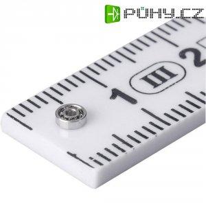 Radiální kuličkové ložisko Modelcraft miniaturní Modelcraft, 2 x 6 x 3 mm