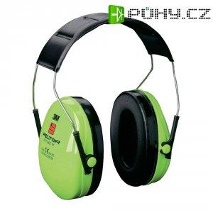 Mušlový chránič sluchu Peltor Optime I Hi-Viz H510AV, 27 dB, 1 ks