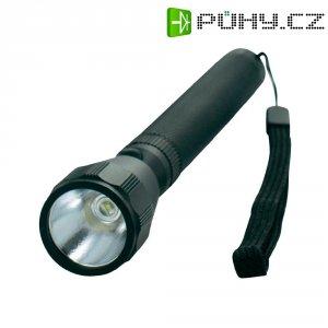 Kapesní aku LED svítilna Mellert TL 60, 100 - 240 V/50 - 60 Hz, 12 - 24 V/DC, černá