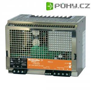 Spínaný síťový zdroj na DIN lištu Weidmüller CP T SNT 600 W, 24 V, 25 A