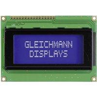 LCD displej Gleichmann, GE-C1604A-YYH-JT/R, 13,6 mm, černá, zelená/žlutá