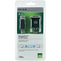 Display port Belkin na DVI, připojovací kabel 1,8 m