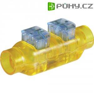 Kabelová spojka TE Connectivity, 293545-4, 0,33 - 0,5 mm², 2pólová, žlutá/modrá