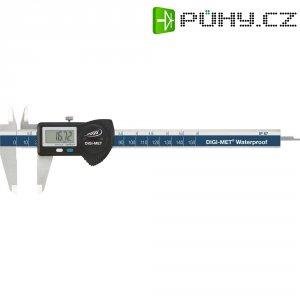Digitální posuvné měřítko Helios Preisser 1226 418, 200 mm, IP67