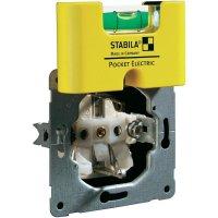 Plastová mini vodováha Stabila Pocket Electric, 17775, elektrikářská