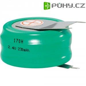 NiMH knoflíkový článek Emmerich 2,4 V 170 H, SLF