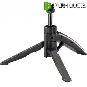 Stolní stativ na mikrofon, nastavitelný, černá