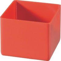 Plastový box Alutec 622100, 54 x 45 x 54 mm, červená