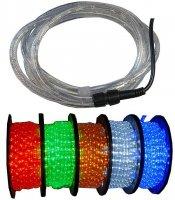 Světelný kabel LED modrý,průměr 13mm
