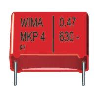 Foliový kondenzátor MKP Wima, 0,1 µF, 630 V, 20 %, 18 x 7 x 14 mm