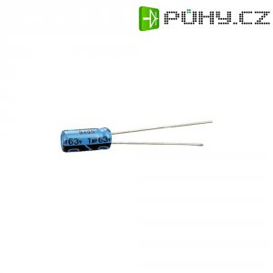 Kondenzátor elektrolytický, 220 µF, 35 V, 20 %, 10 mm x 12,5 mm