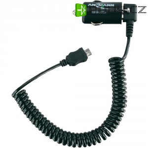 MicroUSB nabíječka do auta Ansmann USB Car Charger