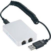 Switch superslim s USB napájením, 5-portový s ethernetem