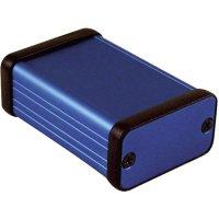 Univerzální pouzdro hliníkové Hammond Electronics, (d x š x v) 60 x 45 x 25 mm, modrá