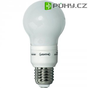 Úsporná žárovka kulatá LightMe Classic E27, 7 W, teplá bílá