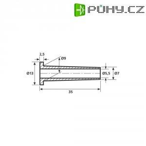 Ochrana proti zlomu HellermannTyton HV2101-PVC-BK-M1 (632-01010), HV 2101, černá