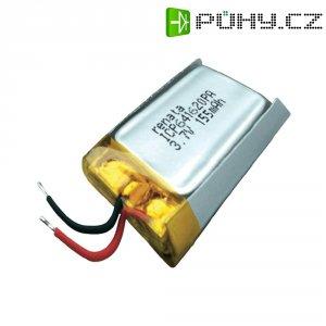 Akumulátor Li-Pol Renata, 3,7 V, 165 mAh, ICP641620PA