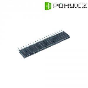 Zásuvková lišta (standardní) Počet kontaktů v řadě: 5 Fischer Elektronik BL11/254/5Z 1 ks