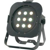 LED reflektor ADJ Flat PAR CWWW9, 1226100232, 27 W, teplá/studená bílá