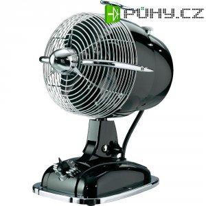 Retro stolní ventilátor CasaFan Retrojet, 24 W, (Ø x v) 18.2 cm x 32 cm, černá, chrom