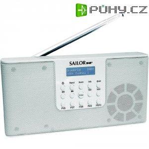 DAB+ rádio Sailor SA-215, FM, bílá
