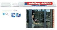 Fix popisovač na okna Edding 4095 bílý
