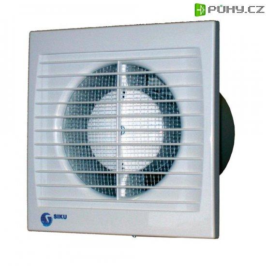 Vestavný ventilátor Siku 150 S Silenta, 30385, 230 V, 292 m3/h, 16,5 x 20,5 cm - Kliknutím na obrázek zavřete