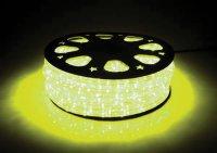 Světelná hadice LED 44m, 1056 LED, žlutá