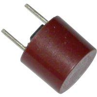 Miniaturní pojistka ESKA pomalá 887121, 250 V, 2,5 A, 8,35 mm x 7.7 mm