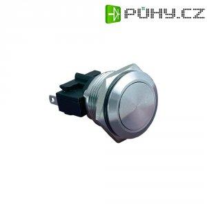Tlačítko zajištěné protivandalismu 5A/250VAC, 21,5 mm